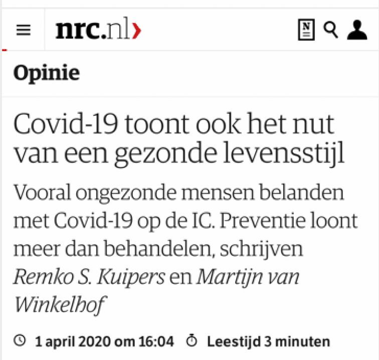 covid19-gezonde-levensstijl